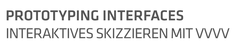 Prototyping Interfaces Logo